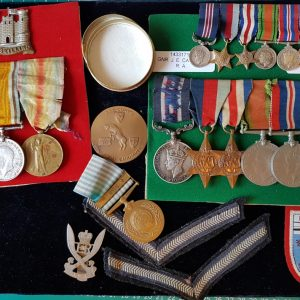Gallantry Medals and Groups