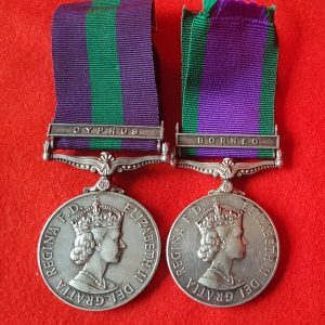 Royal Signals Medal Pair