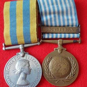 Korean War Medal Pair
