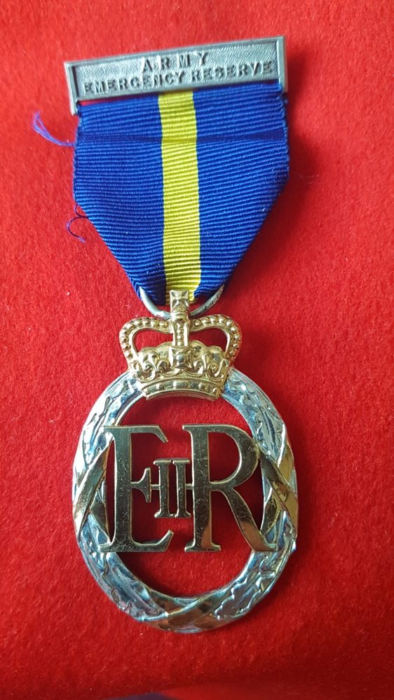 Army Emergency Reserve Decoration Medal