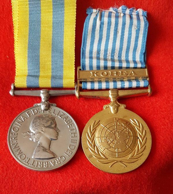 Korean War Medal Pair