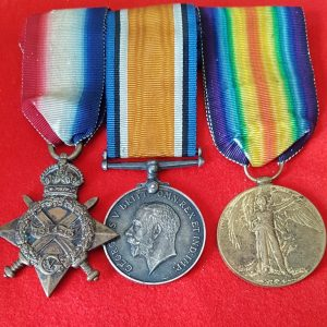 Low Number Great War Medal Trio