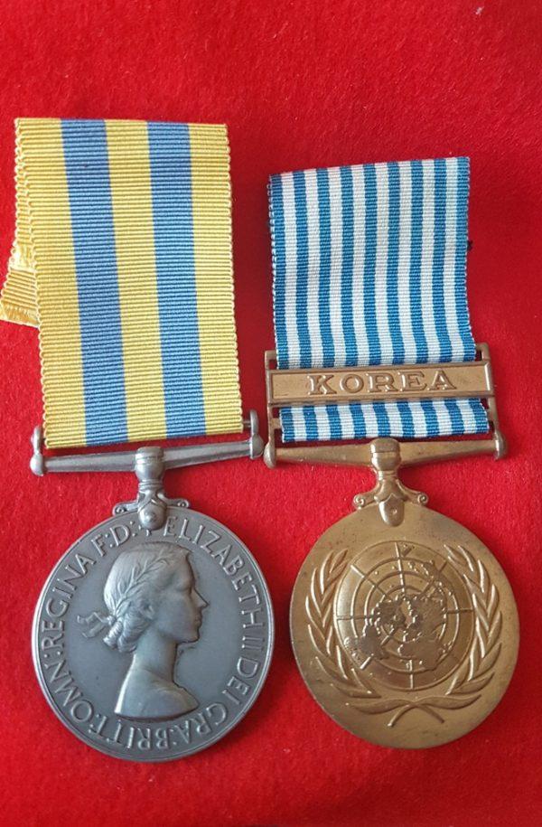 Korea Medal Pair