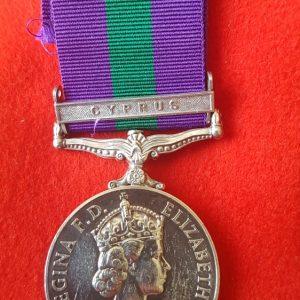 Genera;l Service Medal