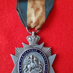 Army Temperance Medal