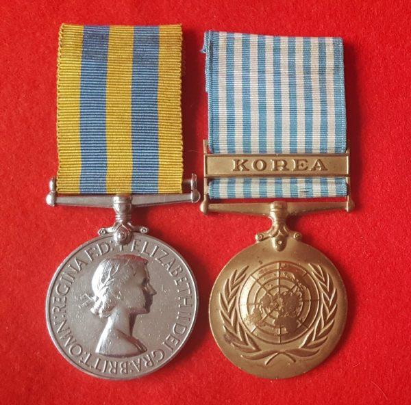 Royal Navy Korean War Medals