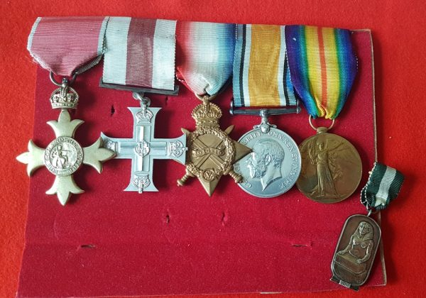 OBE Military Cross Group