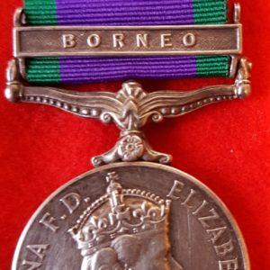 Royal Marine Borneo Medal