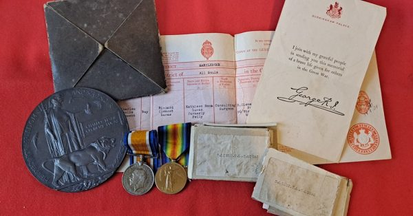 Northamptonshire Regiment Officer Casualty