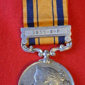Stevensons Horse Zulu Medal