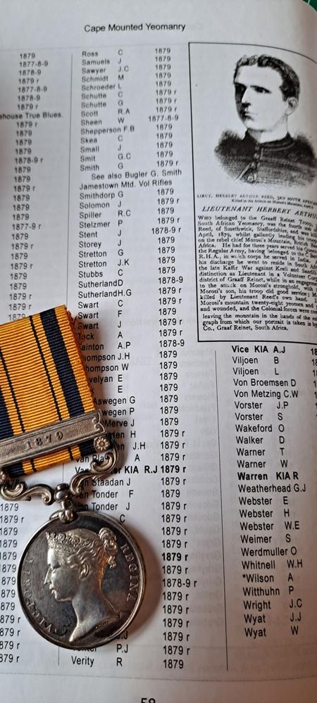 Zulu wars medal