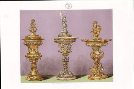 Silver Tazzas by Messrs S Garrard & Co London