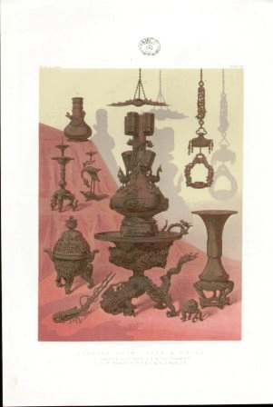 J B Waring 1862 series Bronzes from Japan & China