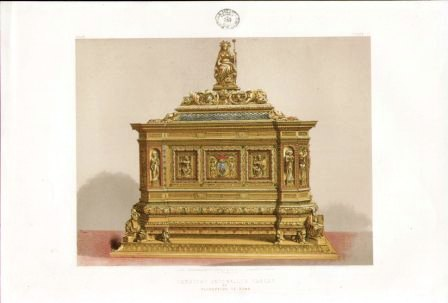 Cardinal Antonellis casket by Florentine of Rome