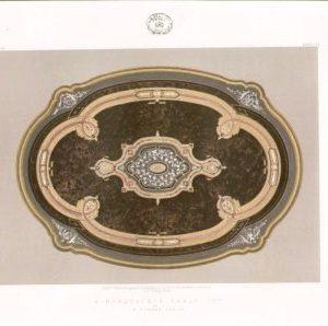 A Marquetrie Table Top by H Ahrens Paris