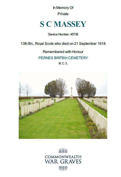 Pernes British Cemetery